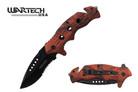 "8"" Wartech USA Tactical Spring Assisted Opening Folding Knife -  YCS7014OCM"