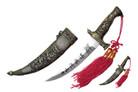 """8.5"""" Mongolian Dagger with Scabbrd"""