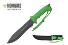 "13"" Zombie Killer Hunting Tactical Knife Serrated Blade with Sheath - H4730"