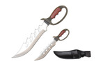 """6"""" and 3.5"""" Two Pieces Letter Openers Daggers with Leather Sheath"""