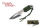 """7"""" Two Tone Tactical Hunting Knife with Fire Starter and Sheath"""