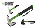 "16.5"" Survival Zombie Killer Tactical Throwing Axe with Sheath - H807GN"