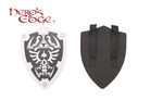 Dark Zelda Foam Hylian Shield for Cosplay and Larp