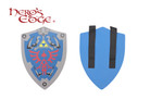 Zelda Master Foam Hylian Shield for Cosplay and Larp