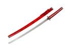 Red Samurai Katana Sword