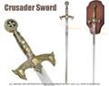 """47"""" Medieval 12th Century Templar Knight Sword"""