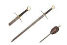 "35"" Stainless Steel Blade Viking Sword"