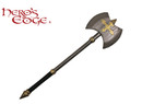 Medieval Foam Crusader Battle Axe LARP
