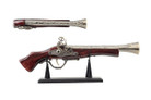 "16"" Decoration Antique Gun Model with Display Stand"