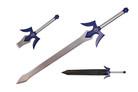 "41.5"" Fantasy Sword with Leather Sheath"