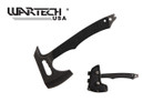 "10"" Tactical Hammer Axe w/ Black G10 Handle"