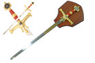 Solomon King Crusader Knight's Sword