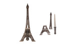"11"" Eiffel Tower Display w/ Dagger"