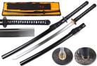 """41 1/2"""" 1095 Hand Forged Samurai Sword Shinogi Zukuri Blade w/ MYOUOU Tsuba"""
