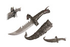 "15"" Angry Dragon Fantasy Knife w/ Scabbard"
