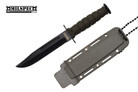 Marine Green Survival Combat Knife Letter Opener with Sheath