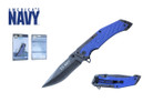 "8.25"" Licensed US Navy Folding Knife - NUN12BL"