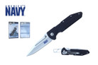 "8.25"" Licensed US Navy Folding Knife - NUN10BK"