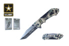 "8.25"" Licensed US Army Folding Knife - NUA16CMO"