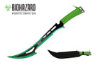 "24"" Biohazard 440 Stainless 2 Tone Blade Hunting Machete - K102051GR"
