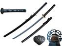 """41.5"""" Ko-Shoami 1060 Carbon Steel Hand Forge Blade Iaito Katana - T64302"""