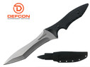 "Defcon Knife 10.8"" D2 Tool steel Full Tang Fixed Blade with Snap Sheath - TD001SL"