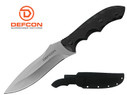 "Defcon Knife 11.3"" D2 Tool steel Full Tang Fixed Blade with Snap Sheath - TD002SL"