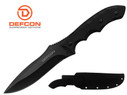 "Defcon Knife 11.3"" D2 Tool steel Full Tang Fixed Blade with Snap Sheath - TD002BK"