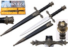 Holy Angelic Medieval Fantasy Dagger with Sheath