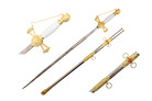 Knights of St John Masonic Sword Medieval Crusader Gold