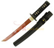 Handmade Japanese Tanto Sword with Red Blade