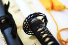 Handmade Full Tang Crane Katana Samurai Sword