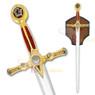 """45"""" Fraternal Masonic Templar Knight Sword Freemasonry"""
