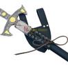 Leather Medieval Crusader Sword Frog Dagger Hanger