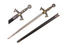 """38"""" Medieval 12th Century Templar Knight Crusader Sword"""