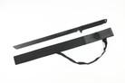 1 PC Full Tang Black Straight Ninja Sword with Sheath