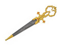Renaissance Bodice Scissor Dagger GD