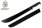 "22"" Heavy Duty Full Tang Jungle Machete with Rubber Handle"
