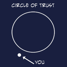 Funny Circle of trust t shirt - BlackSheepShirts