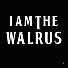 I  AM THE WALRUS - The Beatles - T Shirt