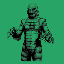 Creature From The Black Lagoon 1954 monster movie T Shirt