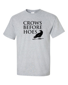 CROWS BEFORE HOES T Shirt - BlackSheepShirts - Take the black!