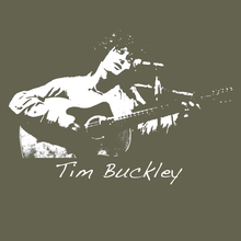 Tim Buckley - folk rock legend T Shirt BlackSheepShirts