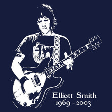 Elliott Smith T Shirt Figure 8 XO