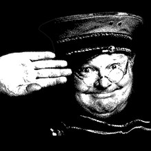 Benny Hill t shirt British bad boy comedian The Benny Hill Show