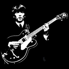 George Harrison T Shirt The Beatles BlackSheepShirts