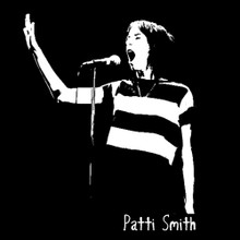 Patti Smith T Shirt BlackSheepShirts