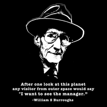 William S. Burroughs T Shirt
