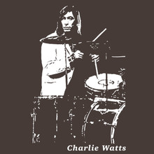 Charlie Watts The Rolling Stones drummer T Shirt