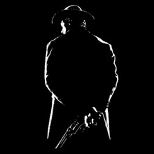 Clint Eastwood T Shirt gunslinger